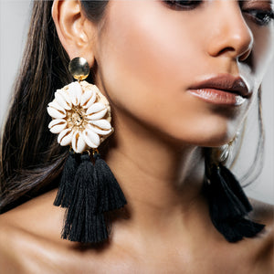 NEON REEF EARRING BLACK