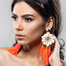Load image into Gallery viewer, NEON REEF EARRING CORAL