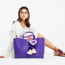 Load image into Gallery viewer, OTOMI TOTE PURPLE
