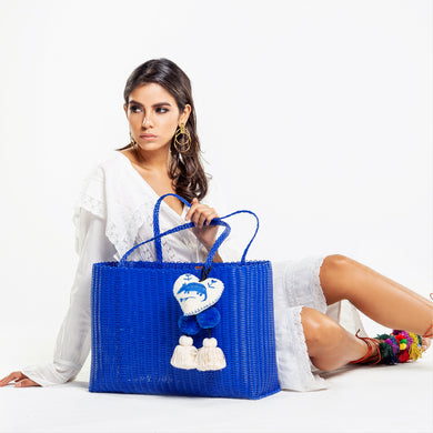 OTOMI TOTE BLUE