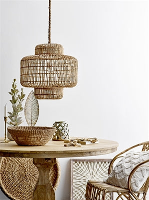 Bloomingville Collected Pendel i Rattan - Interiorflirt.dk