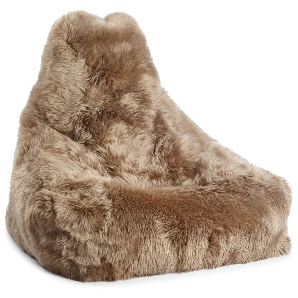 Sækkestol fra Natures Coll., Long-Wool Premium NZ Sheepskin