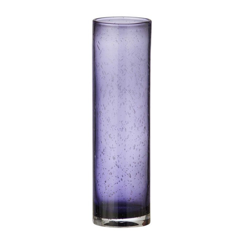 Bungalow Glas Vase Purple H34Cm - InteriorFlirt