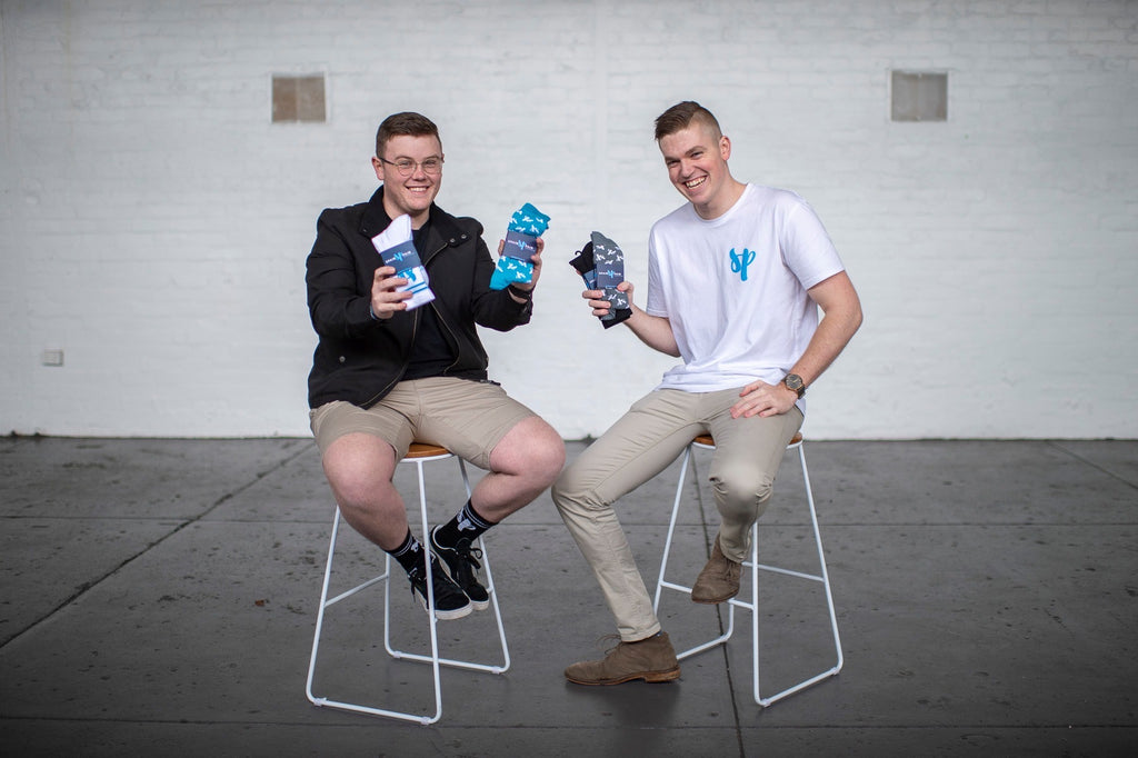 Beau and Josh - Co-Founders of Spair Pair