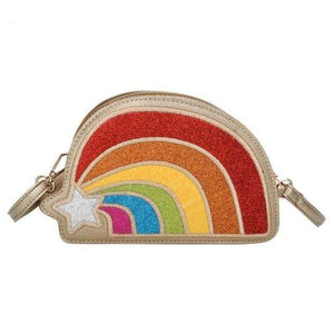 So Kawaii Shop Gold The Kawaii Rainbow Glitter Clutch Handbag 23349344-03