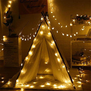 So Kawaii Shop 1.5M/3M/6M/10M LED Battery Powered Star Fairy String Lights