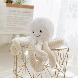 So Kawaii Shop 18cm / white Kawaii Octopus Plush - LIMITED INVENTORY! 22693066-18cm-pendant-white