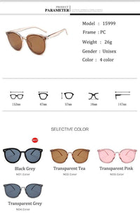 So Kawaii Shop 2019 New Classic Oval Sunglasses