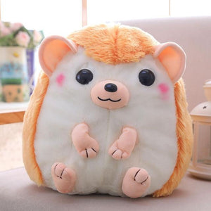 So Kawaii Shop 30x28cm / Peachy Kawaii Hedgehog Plush Backpack 28097361-30x28cm-yellow