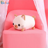 So Kawaii Shop 35cm / brown Kawaii Lying Cat Plush Pillow 17997501-35cm-brown