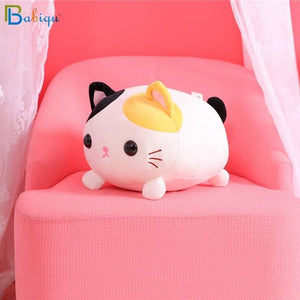 So Kawaii Shop 35cm / Multi-color Kawaii Lying Cat Plush Pillow 17997501-35cm-colorful