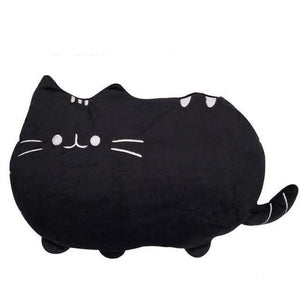 So Kawaii Shop 25cm black Kawaii Pusheen Plush Pillow 14262530-25cm-black