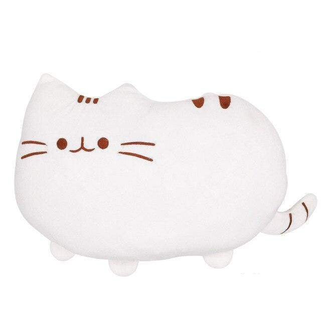 So Kawaii Shop 25cm white Kawaii Pusheen Plush Pillow 14262530-25cm-white