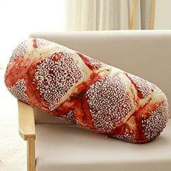 So Kawaii Shop 56cm Sesame bread Long Butter Bread Meat floss Sesame Pizza Beefsteak Pillows Food Plush Pillow Simulated Snack Decoration Backrest Cushion 24958779-56cm-sesame-bread