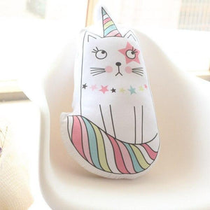 So Kawaii Shop 60cm cat Kawaii Pillow Unicorn, Caticorn Cat, or Icecream 16093096-60cm-cat