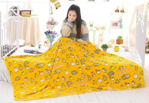 So Kawaii Shop about 200x150cm Kawaii Gudetama the Lazy Egg Bedding 9096148-about-200x150cm