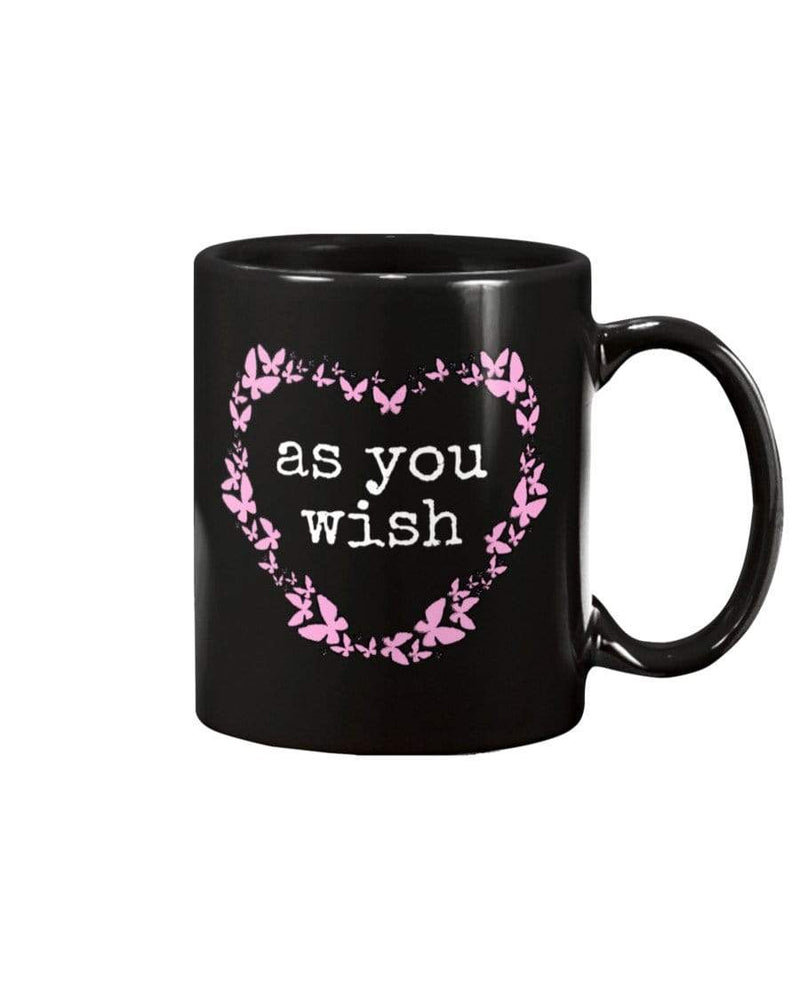 Fuel Apparel 15oz Mug / Black / 15OZ As you wish mug 01-000000-15OZ