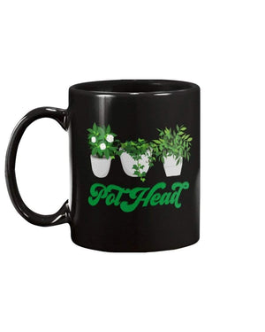 Fuel Apparel 15oz Mug / Black / 15OZ pot head mug 01-000000-15OZ