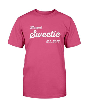 Fuel Apparel Bella + Canvas Unisex T-Shirt / Berry / 2XL blessed sweetie 01-D2285F-2XL