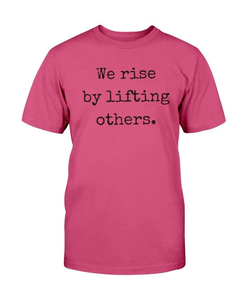 Fuel Apparel Bella + Canvas Unisex T-Shirt / Berry / S we rise by lifting others 01-D2285F-S