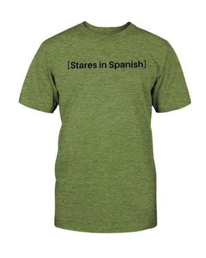 Fuel Apparel Bella + Canvas Unisex T-Shirt / Heather Green / S stares in spanish FUEL-2A8E222