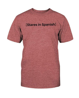 Fuel Apparel Bella + Canvas Unisex T-Shirt / Heather Mauve / S stares in spanish FUEL-1EB5596