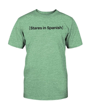Fuel Apparel Bella + Canvas Unisex T-Shirt / Heather Mint / S stares in spanish FUEL-8FA75E1
