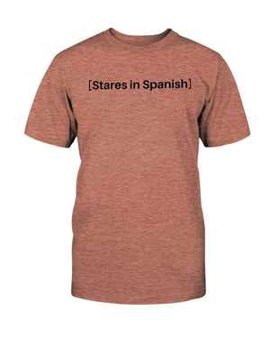 Fuel Apparel Bella + Canvas Unisex T-Shirt / Heather Sunset / S stares in spanish FUEL-6AA36EE