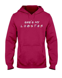 Fuel Apparel Gildan 50/50 Hoodie / Cardinal Red / S she's my lobster hoodie fuel FUEL-78A8B35
