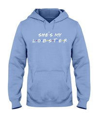 Fuel Apparel Gildan 50/50 Hoodie / Carolina Blue / S she's my lobster hoodie fuel FUEL-E36478C