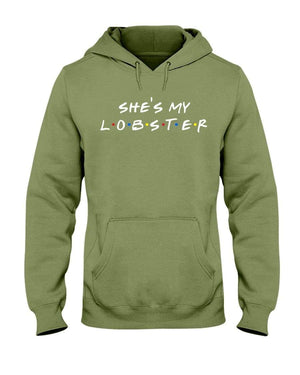Fuel Apparel Gildan 50/50 Hoodie / Military Green / S she's my lobster hoodie fuel FUEL-189AA55