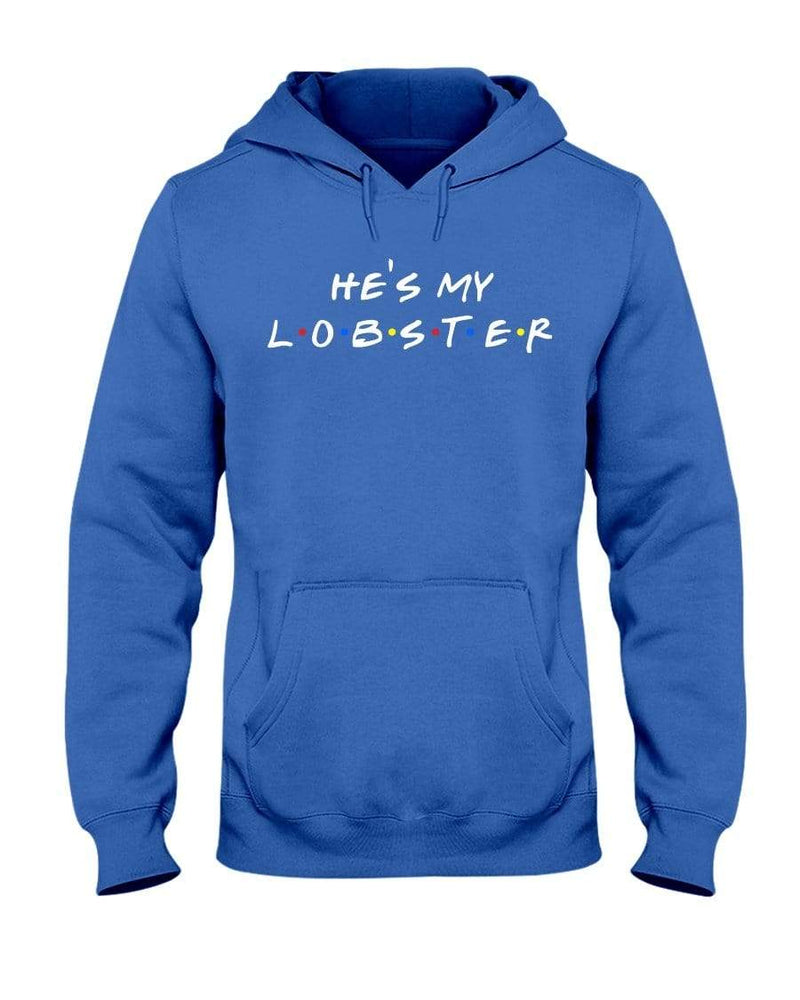 Fuel Apparel Gildan 50/50 Hoodie / Royal Blue / S he's my lobster hoodie fuel FUEL-EE99D98