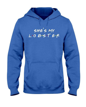 Fuel Apparel Gildan 50/50 Hoodie / Royal Blue / S she's my lobster hoodie fuel FUEL-CE0E6E3