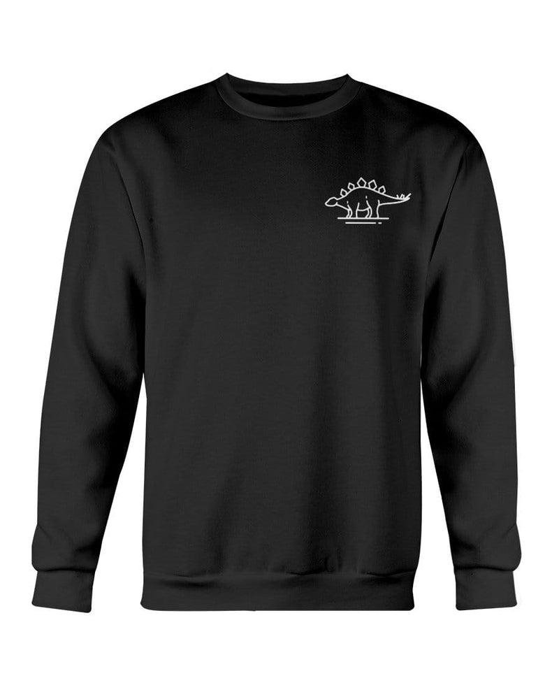 Fuel Apparel Gildan Sweatshirt - Crew / Black / S stegasaurus pocket fuel FUEL-A2544B0