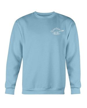 Fuel Apparel Gildan Sweatshirt - Crew / Carolina Blue / S stegasaurus pocket fuel FUEL-24AE563