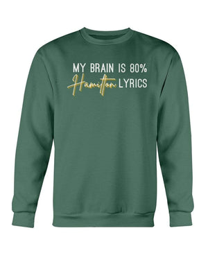 Fuel Apparel Gildan Sweatshirt - Crew / Military Green / S 80% hamilton lyrics sweatshirt adult fuel FUEL-AB19FB9