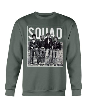 Fuel Apparel Gildan Sweatshirt - Crew / Military Green / S golden girls crew 2 01-465649-S