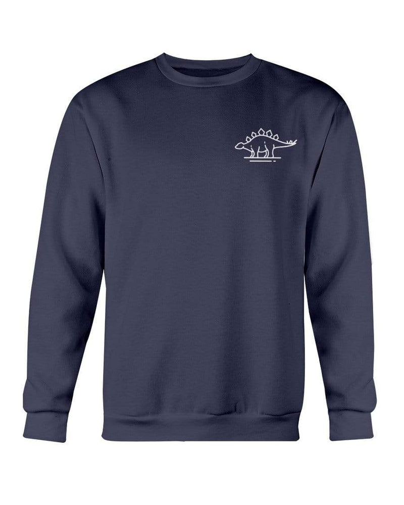 Fuel Apparel Gildan Sweatshirt - Crew / Navy / S stegasaurus pocket fuel FUEL-EE85799