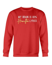 Fuel Apparel Gildan Sweatshirt - Crew / Red / S 80% hamilton lyrics sweatshirt adult fuel FUEL-59ED93F