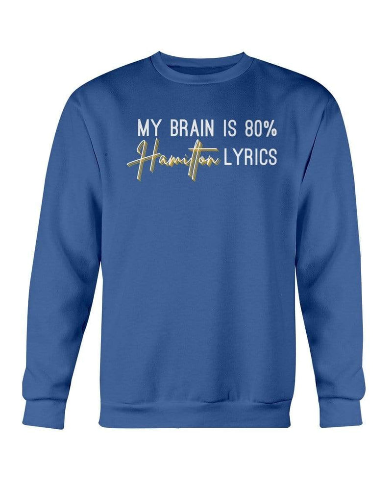 Fuel Apparel Gildan Sweatshirt - Crew / Royal Blue / S 80% hamilton lyrics sweatshirt adult fuel FUEL-6CFD9FB