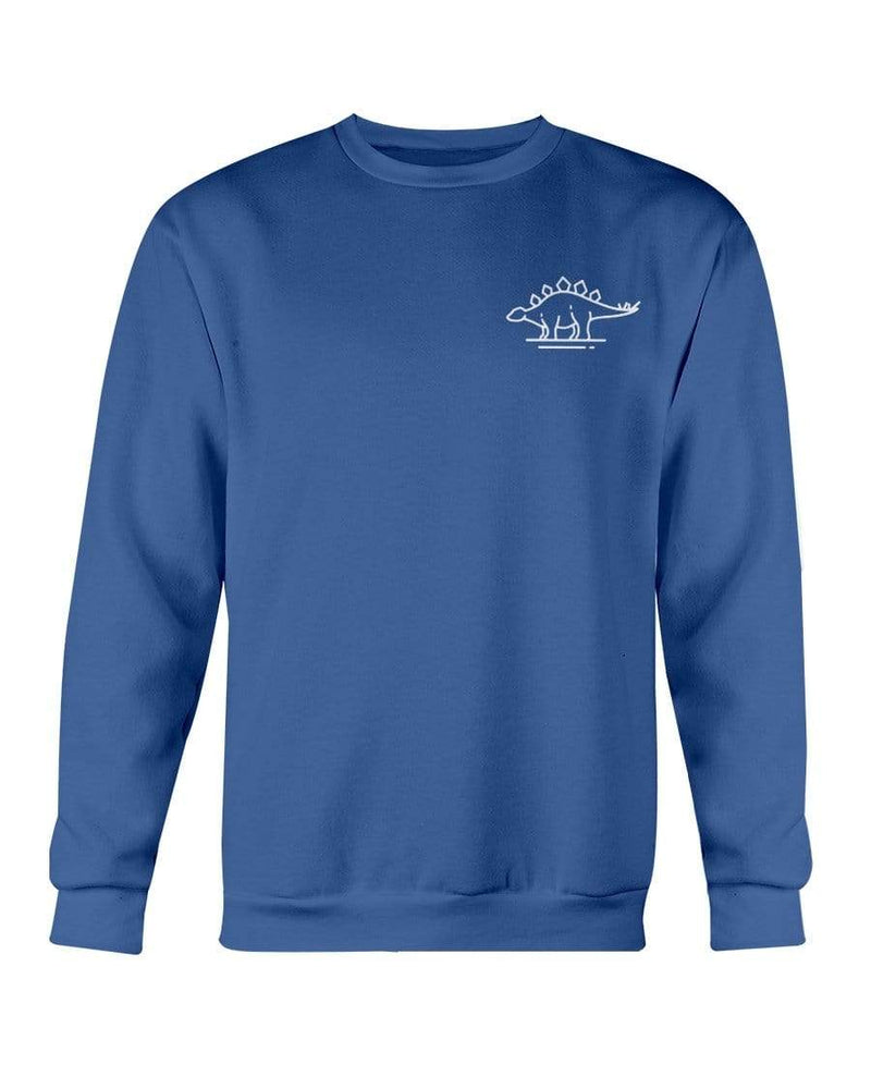 Fuel Apparel Gildan Sweatshirt - Crew / Royal Blue / S stegasaurus pocket fuel FUEL-BE5DE74