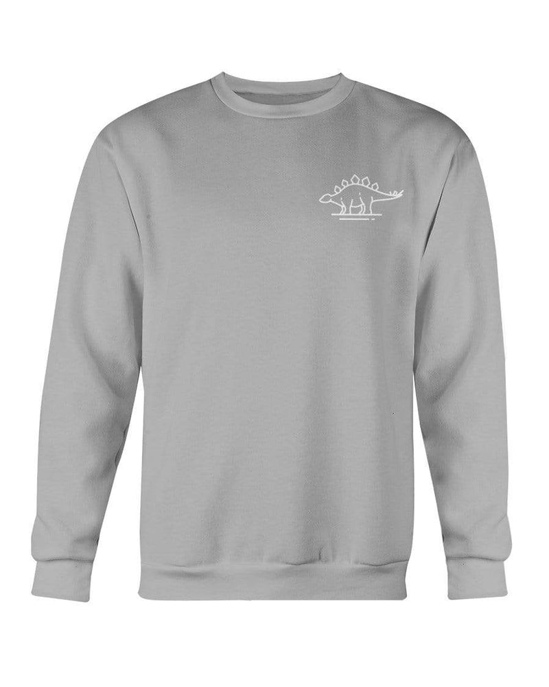 Fuel Apparel Gildan Sweatshirt - Crew / Sports Grey / S stegasaurus pocket fuel FUEL-811C4D2