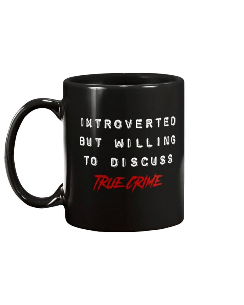 Fuel Apparel introverted true crime / Black / 11Oz introverted true crime mug FUEL-5A22F82