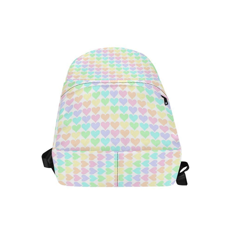 interestprint Backpacks One Size The Kawaii Pastel Hearts Backpack D1327526