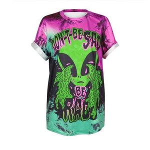 So Kawaii Shop BAM010 / XXL So Kawaii Pastel Goth & Punk Alien Tees 22789541-bam010-xxl