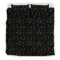 So Kawaii Shop Bedding Set - Black - Mystic Dark Skies Constellations Bedding Set / US King Mystic Dark Skies Constellations Bedding Set PP.14611226