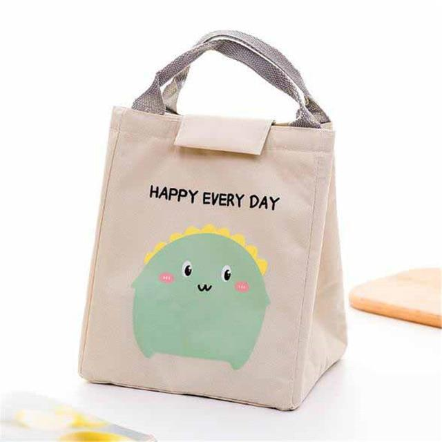 So Kawaii Shop Beige Kawaii Insulated Lunch Bag 26996903-beige