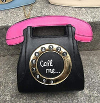 So Kawaii Shop Black / (20cm<Max Length<30cm) Kawaii Retro Phone Handbag 3113783-black-20cm-max-length-30cm