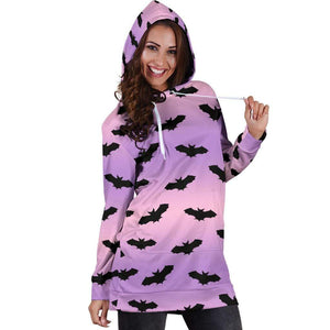 So Kawaii Shop black bats hoodie dress