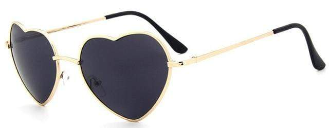 So Kawaii Shop black Oversized Heart Sunglasses FREE SHIPPING! 20139639-c11